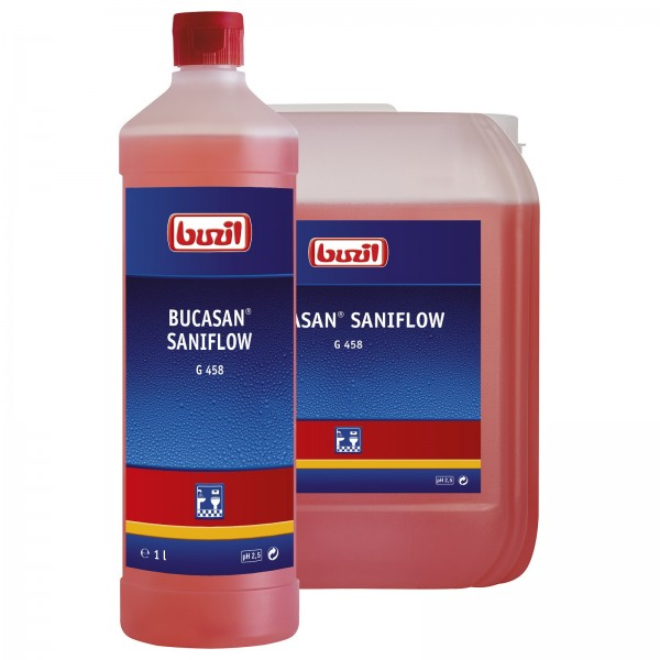 Buzil Bucasan® Saniflow G458 - 1L Flasche
