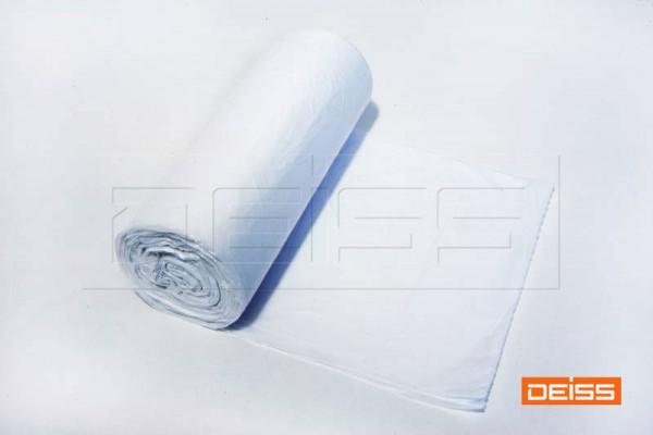 DEISS Müllbeutel UNIVERSAL 630x850 60l weiß (1 Rolle = 40 Stück)