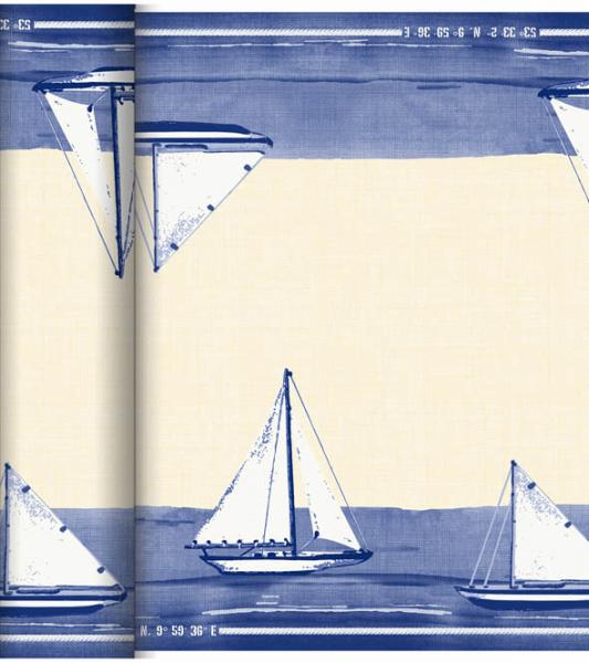 Duni DC Tête à Tête Tischläufer 0,4x24m Sailing - 6x1 Stück