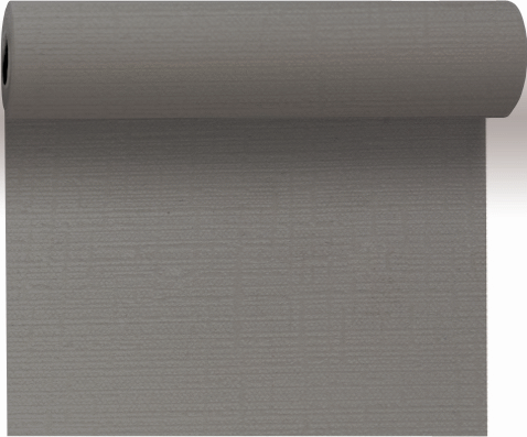 Duni Tete á Tete Evolin 0,41x24m granite grey - 4x1 Stück