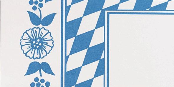 Duni Dunicel Mitteldecke 84x84 Bayer Raute  - 5x20 Stück