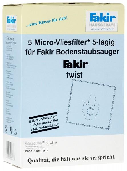 Fakir Papierfilterset für ARES Öko Power 5 Staubbeutel + Filterset (EUR 3,09/Stück)