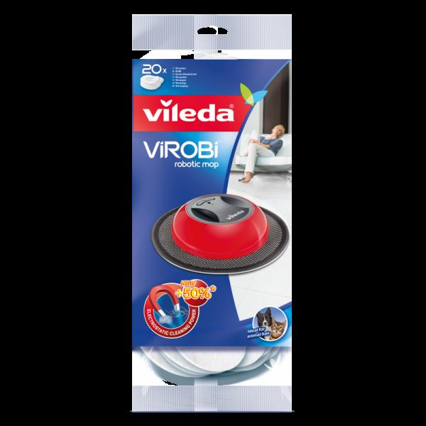 Vileda Virobi  - Reinigungstücher -  Ersatzpad (1 Packung a 20 Stück)