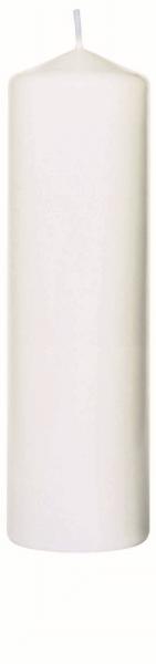 Duni Stumpenkerzen 70x220mm weiß - 10x1 Stück
