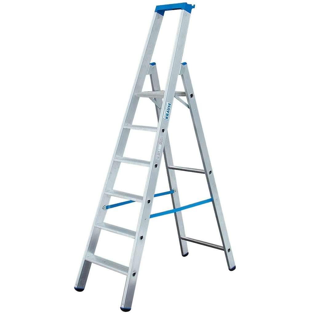 krause stabilo stufen-stehleiter 6 stufen | leitern & zubehör