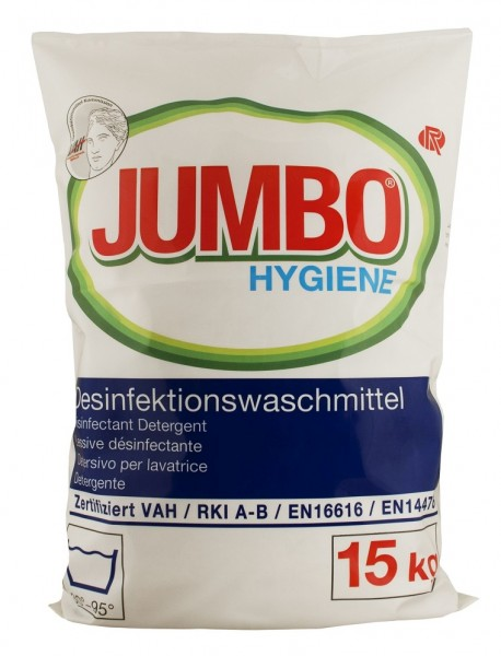 Jumbo Hygiene Desinfektionswaschmittel 15kg