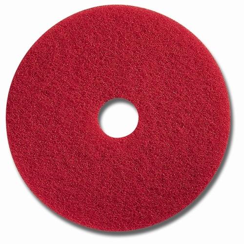 """Glit Floor Superpad - rot - Ø 16"""" = 406 mm"""