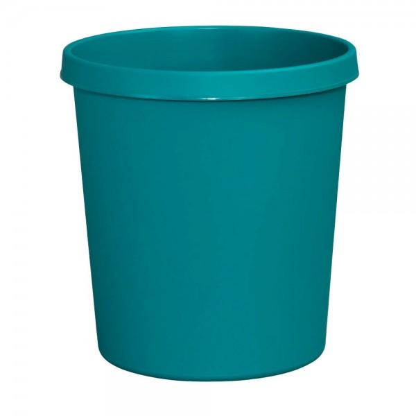 Helit Papierkorb mit Rand 18 L grün