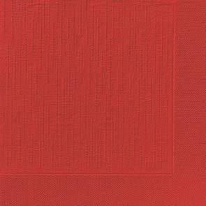 Duni Zelltuch Servietten 40x40 Klassik rot  - 6x50 Stück