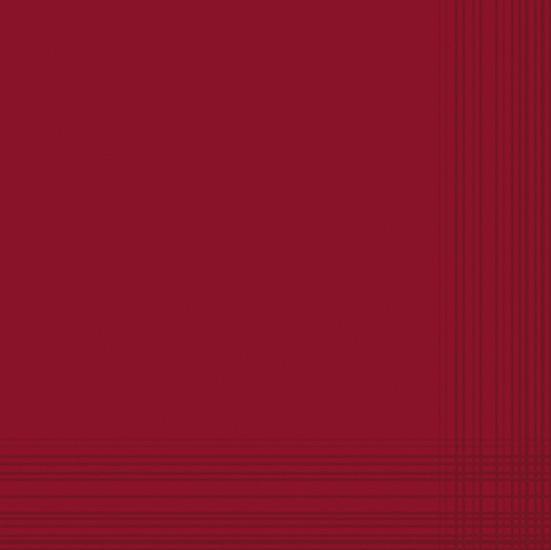 Duni Dunicel Servietten 41x41 Maitre bordeaux  - 10x50 Stück