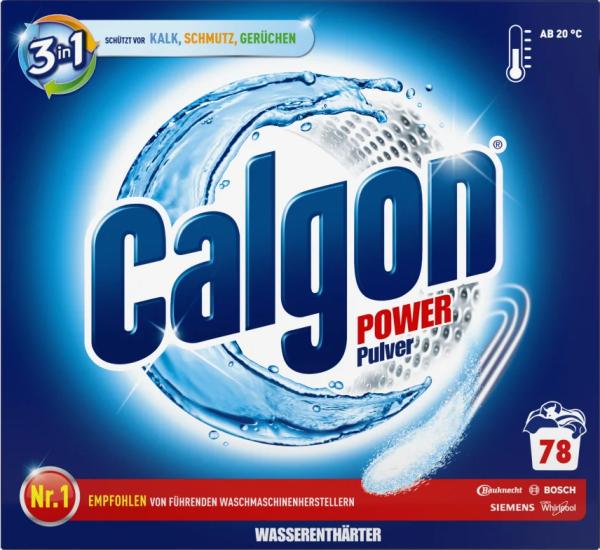 Calgon 3in1 Wasserenthärter - Waschpulver 2,5 kg