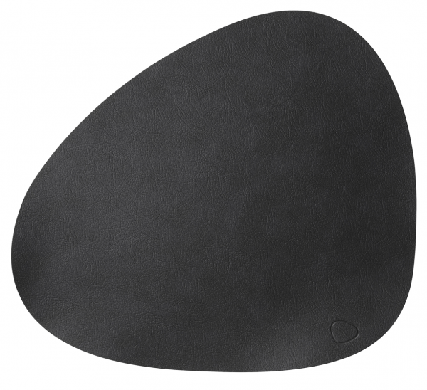 Duni Leder Tischsets 37x44cm, schwarz - 4x1 Stück