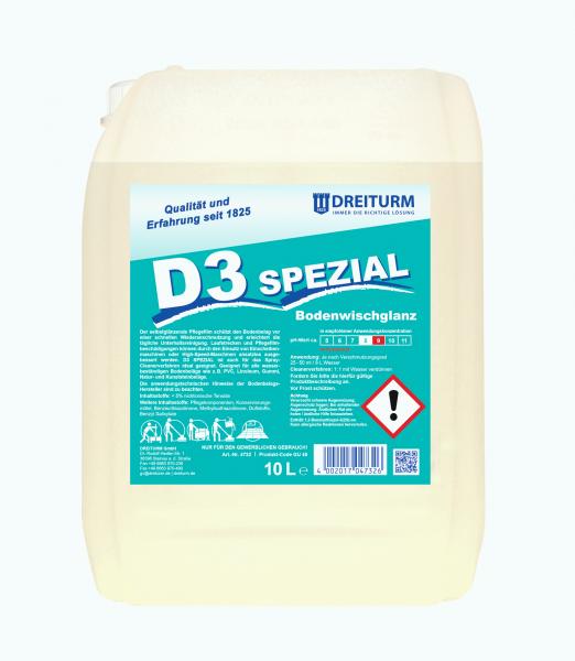 Dreiturm Wischpflege D3 Spezial 10L - 4732
