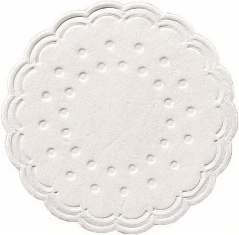 Duni Tassenuntersetzer Ø 7,5cm, 8lg weiß - 12x250 Stück