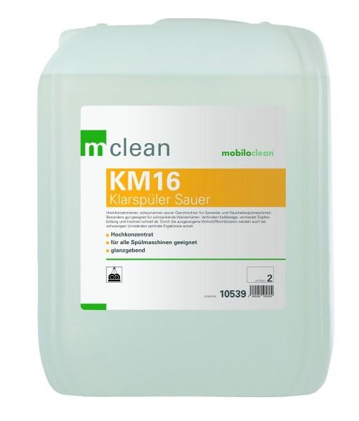Cleanclub Klarspüler sauer KM16 10L