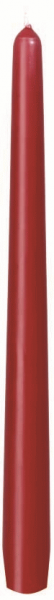 Duni Leuchterkerzen 250x22mm bordeaux - 2x50 Stück