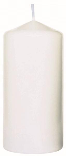 Duni Stumpenkerzen 100x50mm weiß - 6x10 Stück