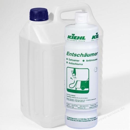 Kiehl Entschäumer 1 ltr. Flasche zur Schaumreduzierung d. Schmutzflotte