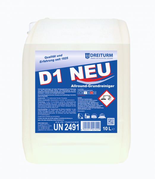 Dreiturm Universalgrundreiniger D1 Neu 10L - 4702