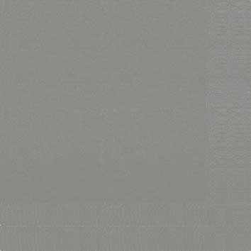 Duni Zelltuch Servietten 33x33 3lg 1/4 granite grey  - 4x250 Stück