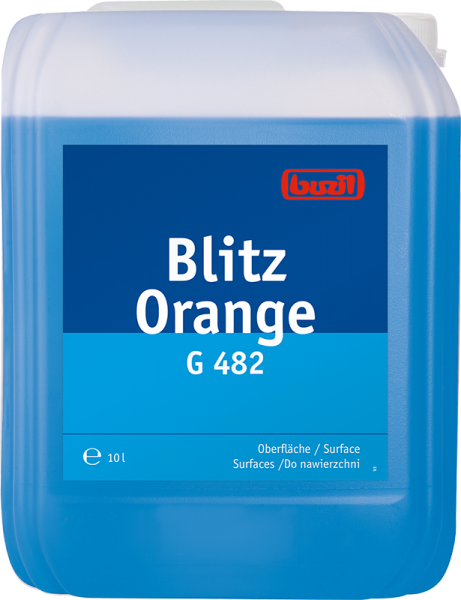 Buzil Blitz Orange G482 - 10L Kanister