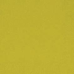 Duni Zelltuch Servietten 33x33 3lg 1/4 kiwi  - 10x50 Stück