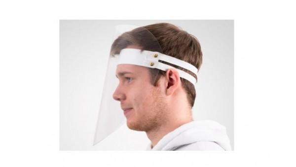 Gesichtsschutzmasken mit klarem Visier