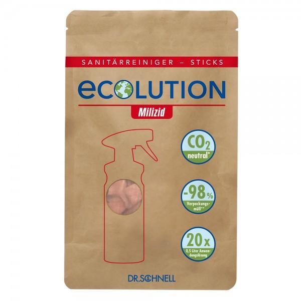 Dr. Schnell Ecolution Milizid Sanitärrreiniger-Sticks (1 Beutel = 20 Sticks)