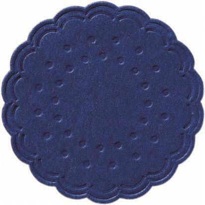 Duni Tassenuntersetzer Ø 7,5cm, 8lg dunkelblau - 12x250 Stück