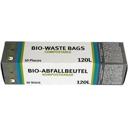 Bio4Pack Bio Müllbeutel 120L (1 Packung = 10 Stück)