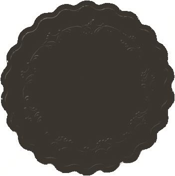 Duni Glasuntersetzer Ø 9cm, 8lg Romanze schwarz - 8x250 Stück