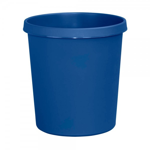 Helit Papierkorb mit Rand 18 L blau 4