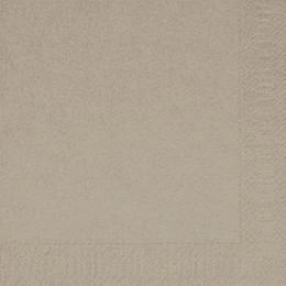 Duni Zelltuch Servietten 33x33 3lg 1/4 greige - 4x250 Stück