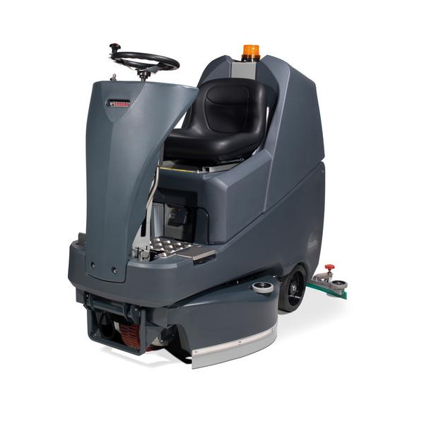 Aufsitz-Scheuersaugmaschine TRO650/200G mit 2x Schrubbürste 330mm