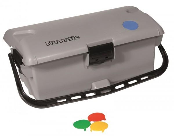 Numatic Mopmatic Moppbox MK 2 grau mit 4-Farbcodierungen