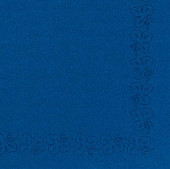 Duni Dunicel Servietten 41x41 Weinranke d blau  - 10x50 Stück