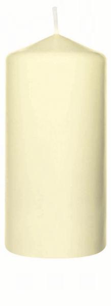 Duni Stumpenkerzen 130x60mm, cream  - 2x6 Stück