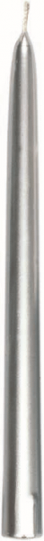 Duni Spitzkerzen 260x22mm Silber - 10x10 Stück