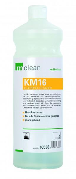 Cleanclub Klarspüler sauer KM16 1L