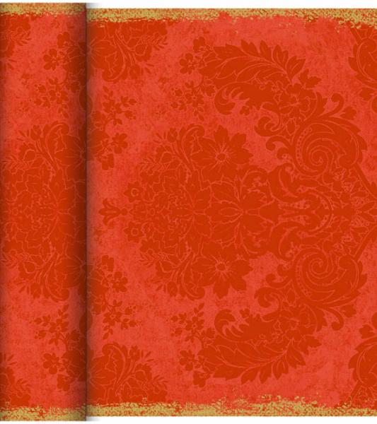 Duni DC Tête à Tête Tischläufer 0,4x24m Royal mandarin - 6x1 Stück