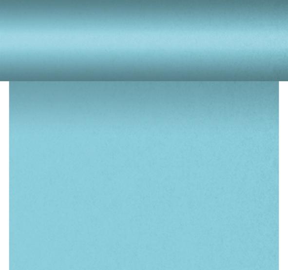 Duni DC Tête à Tête Tischläufer 0,4x24m mint blue - 6x1 Stück