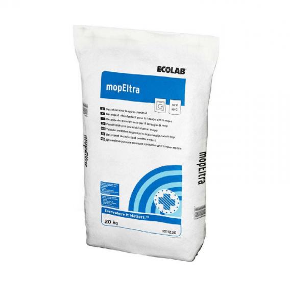 Ecolab mopEltra 20 kg Desinfektions-Mopwaschmittel Sack