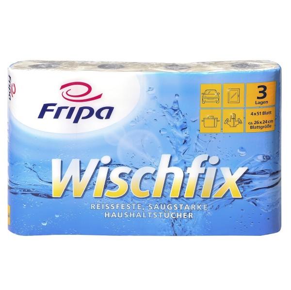 Küchenrollen Küchenpapier Fripa Wischfix hochweiß 26x23 cm, 32 Rollen, 3-lagig