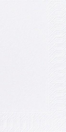 Duni Zelltuch Servietten 33x33 3lg 1/8 BF weiss - 4x250 Stück