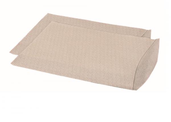 Ampri Waschhandschuh Airlaid weiß 60g/m² (1 Karton = 10 Packungen à 100 Stk. )
