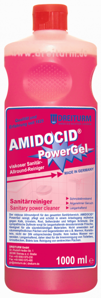 Dreiturm Sanitärreiniger Amidocid Powergel 1L