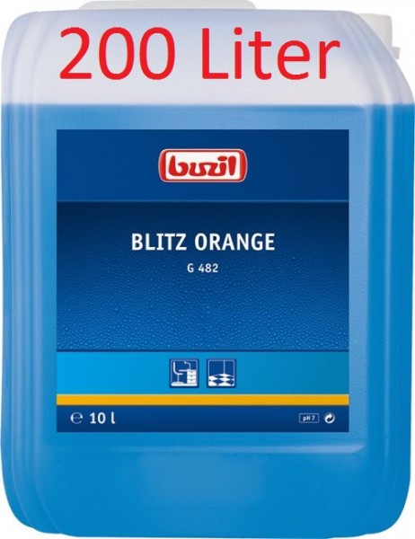 Buzil Blitz Orange G482 - 200L Fass