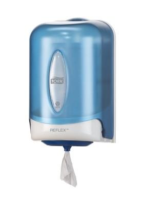 Tork Reflex Einzelblatt Mini Innenabrollungsspender - blau - M3