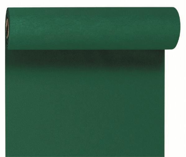 Duni DC Tête à Tête Tischläufer 0,4x24m jägergrün - 6x1 Stück