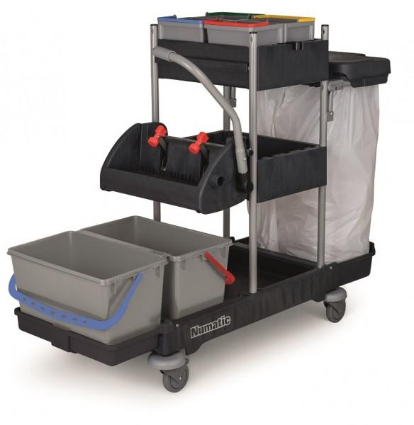 Numatic Reinigungswagen ProCar 3G inkl. Mopp-Set MSG 0